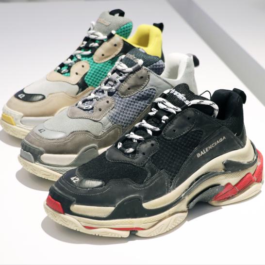 Balenciaga's Triple S sneakers ($795)
